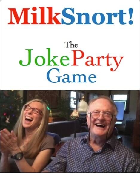 MilkSnort! The Joke Party Game