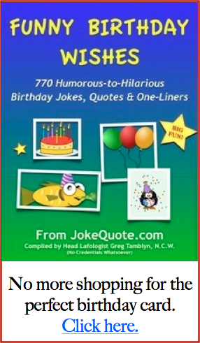 65th Birthday Jokes