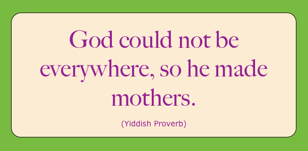 Clever Yiddish Proverb