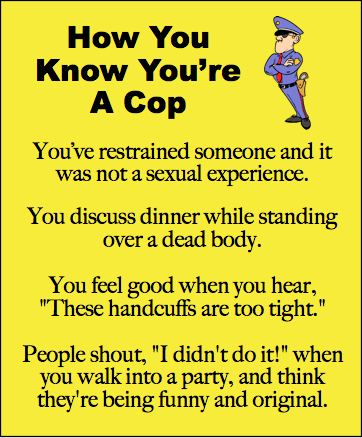 Funny cop jokes