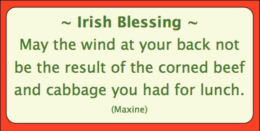 St Patricks Day Jokes: Irish Blessing