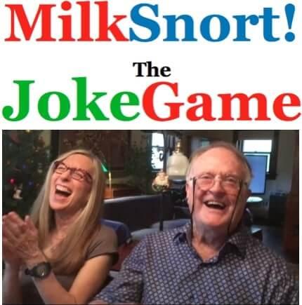 MilkSnort logo and photo