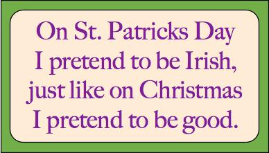 St Patricks Day Jokes: