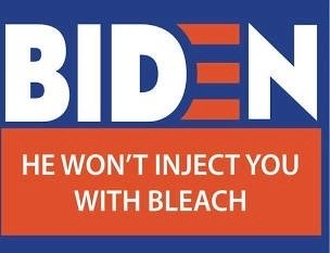 Biden Yard Sign that says