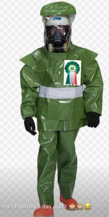 St. Pats Day Parade Costume